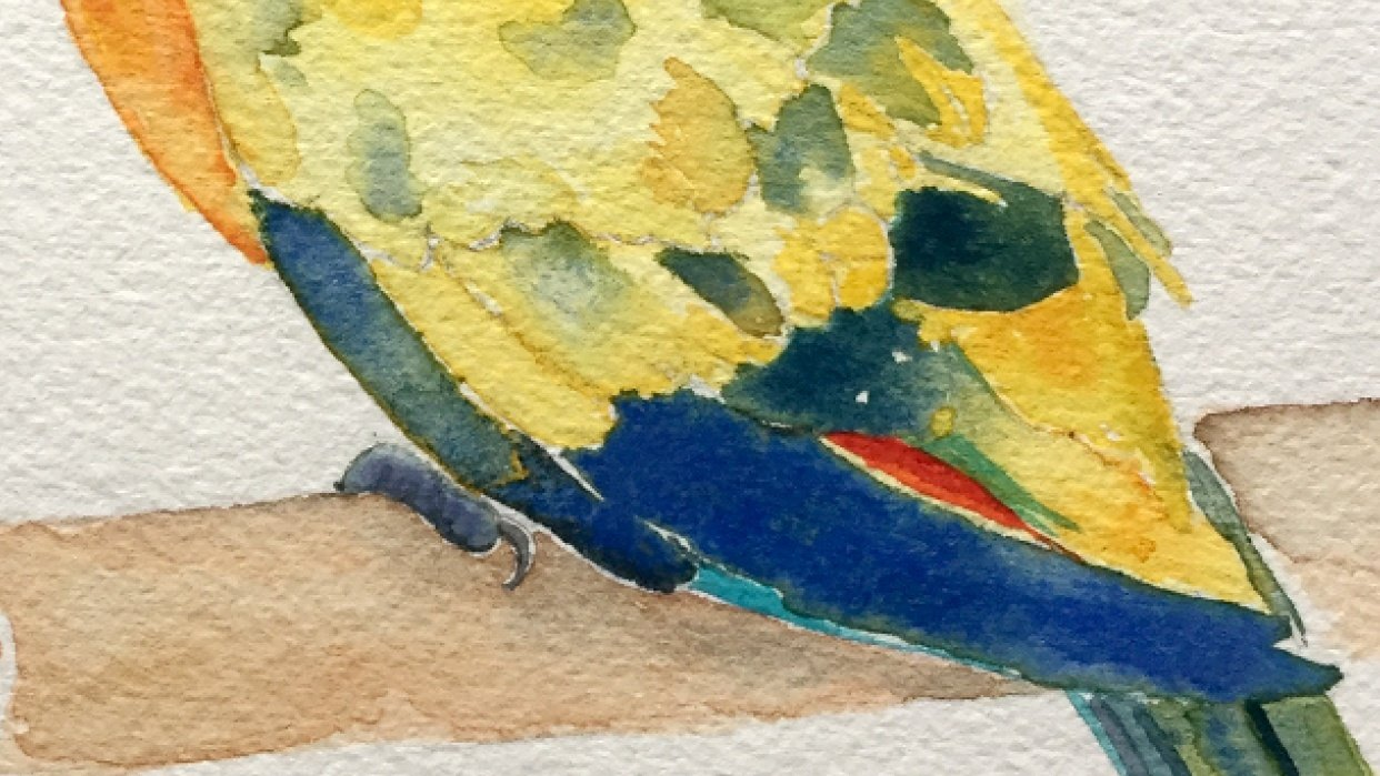 Colorful fella - student project