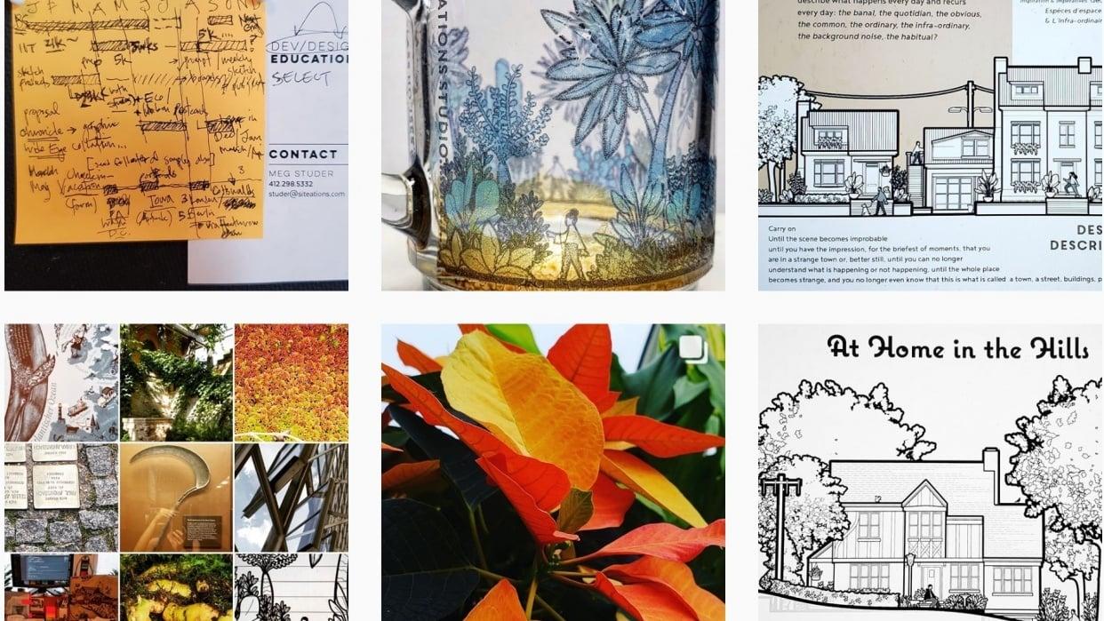 Siteations Studio Instagram - student project
