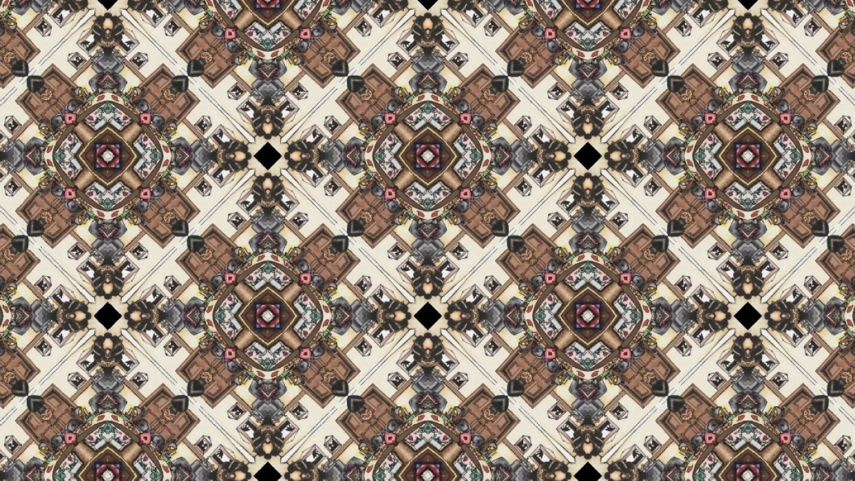 Patterns I created in Adobe Capture - student project
