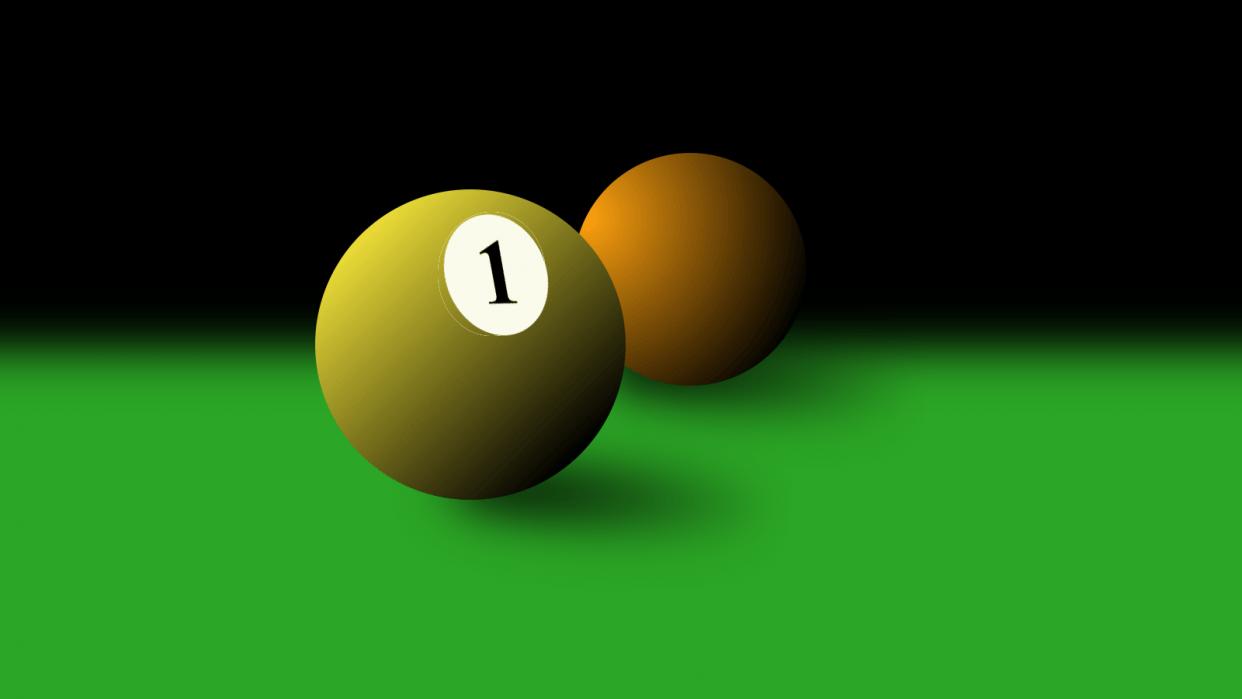 Pool Balls - student project