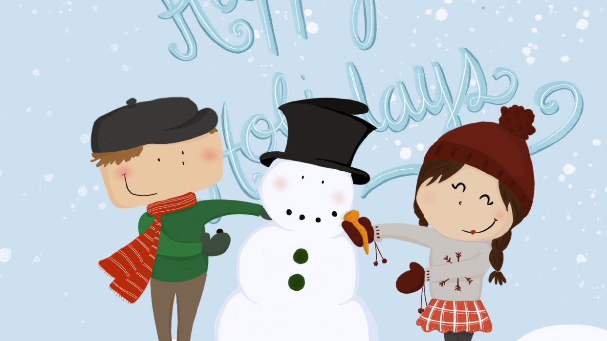 Happy holidays - student project