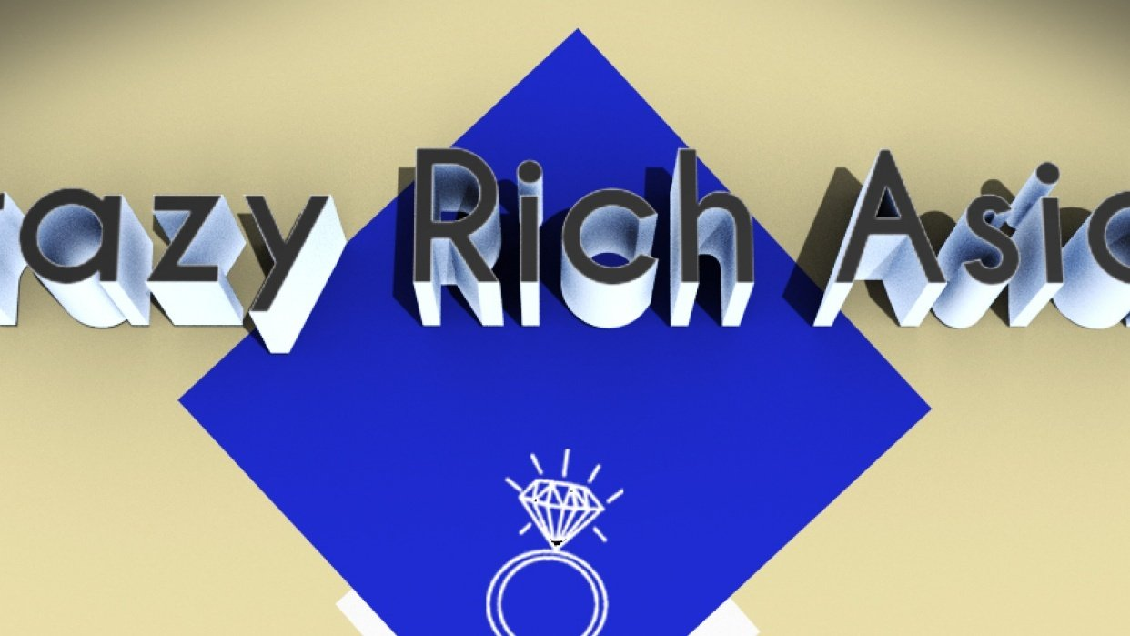 CRAZY RICH ASIAN - student project