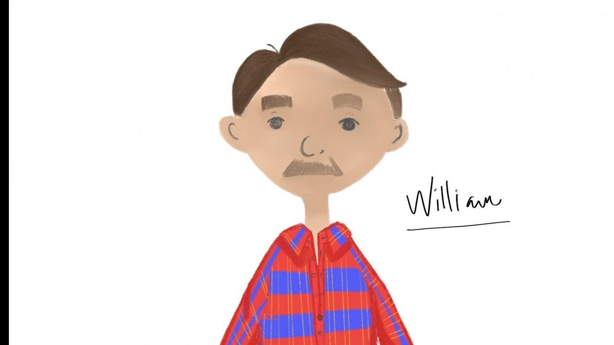 William: Little Forest Stories Character - student project