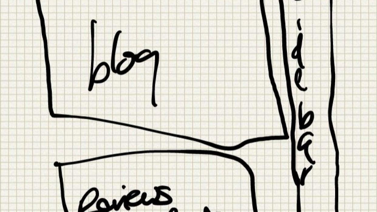 Beautiful, responsive technology blog. - student project
