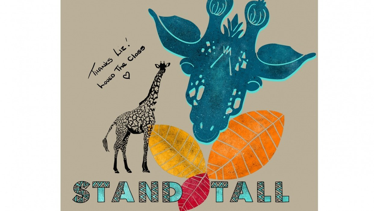 Love from African Giraffe's - student project