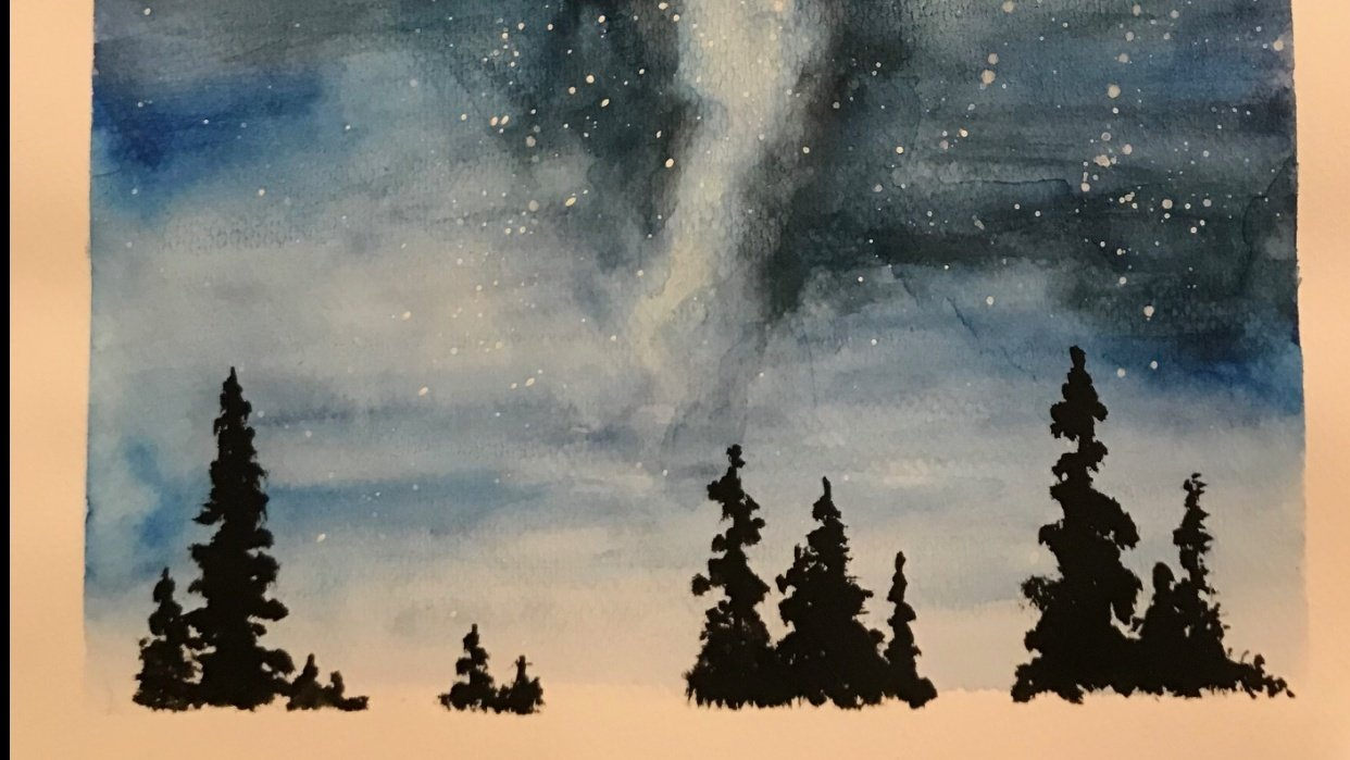 Learning to paint the Milky Way night sky - student project