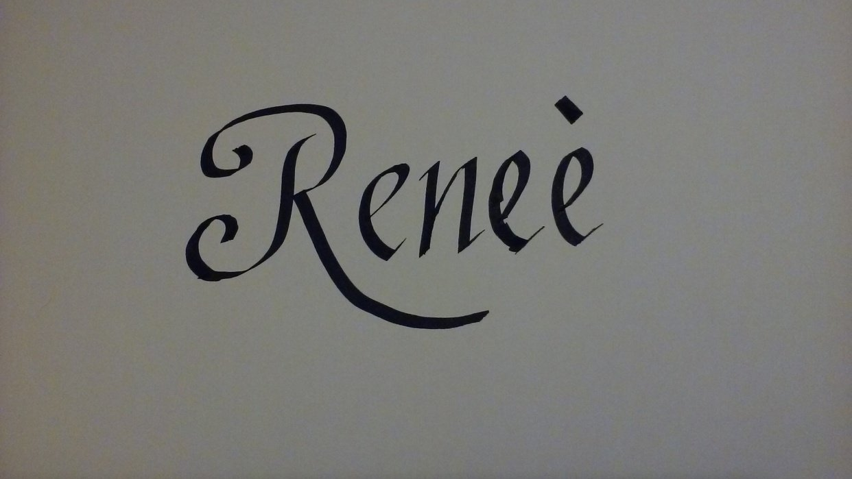 Project of writing my name - student project