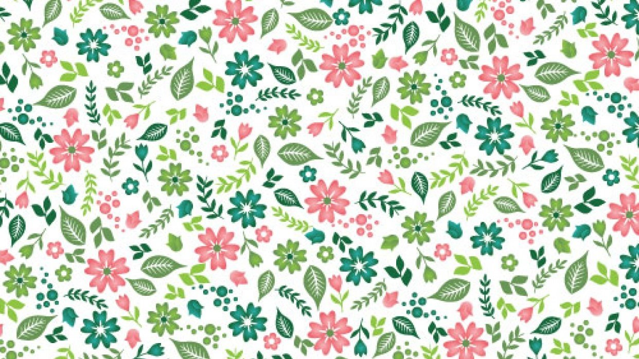Ditsy patterns fun! - student project