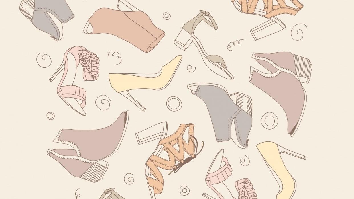 Shoe pattern - student project