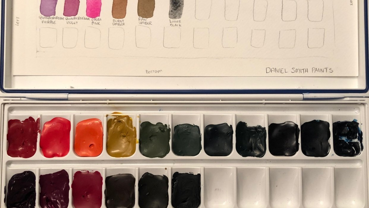 Watercolor Palette - student project