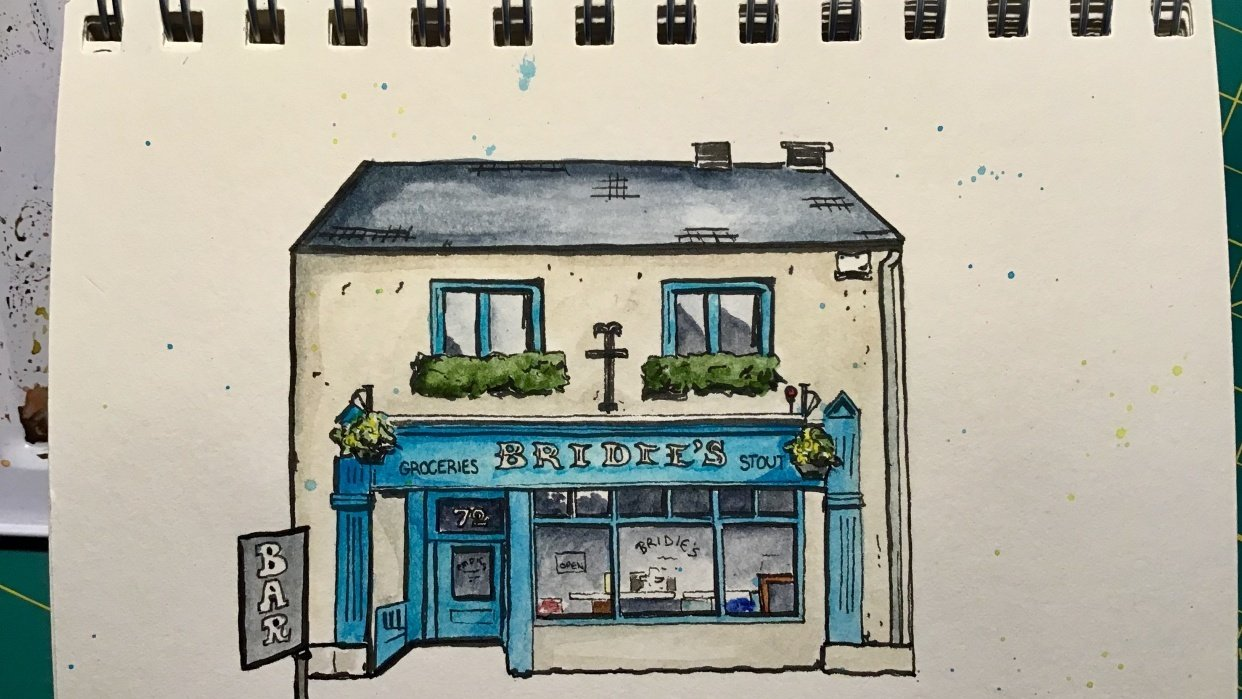 Bridie's Bar and General Store - student project