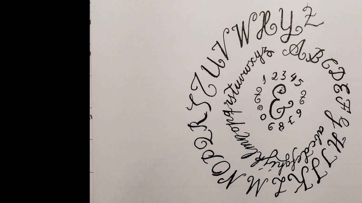Ten-Day Calligraphy Challenge - student project