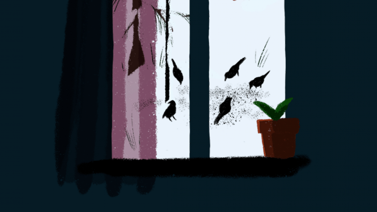 Animation Workshop - Winter Feeder - student project