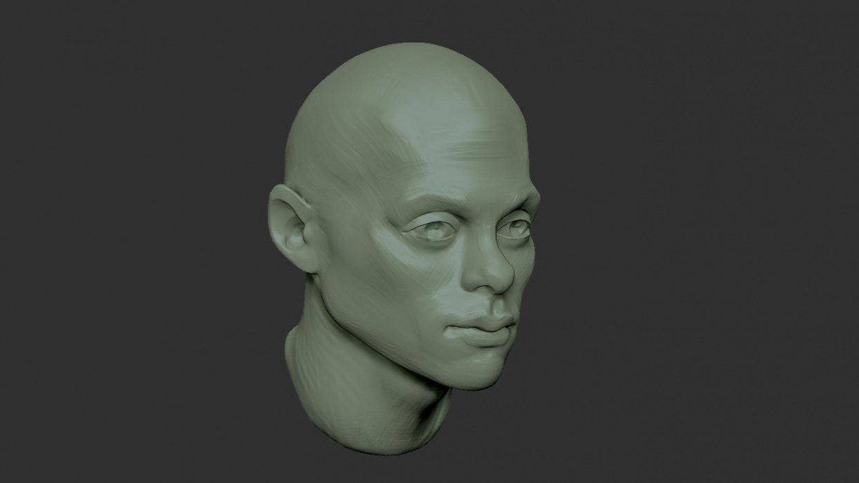 Learning how to people in Zbrush - student project