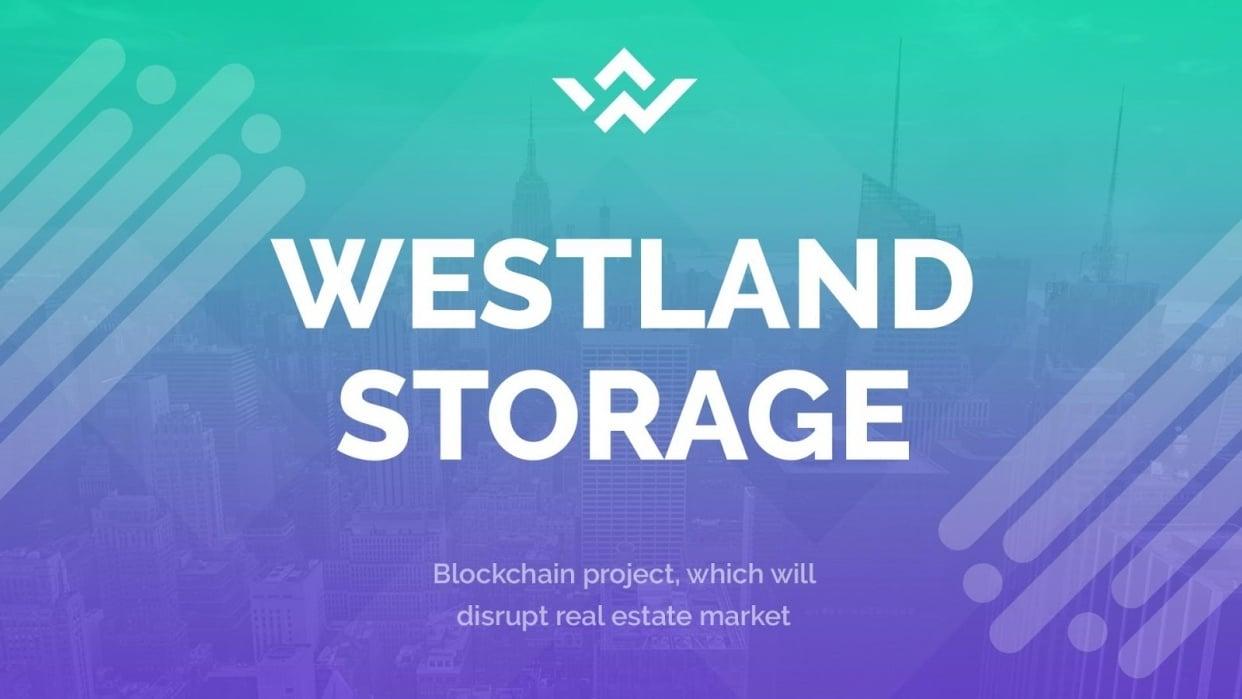 Westland Storage PPT Presentation Webinar - student project