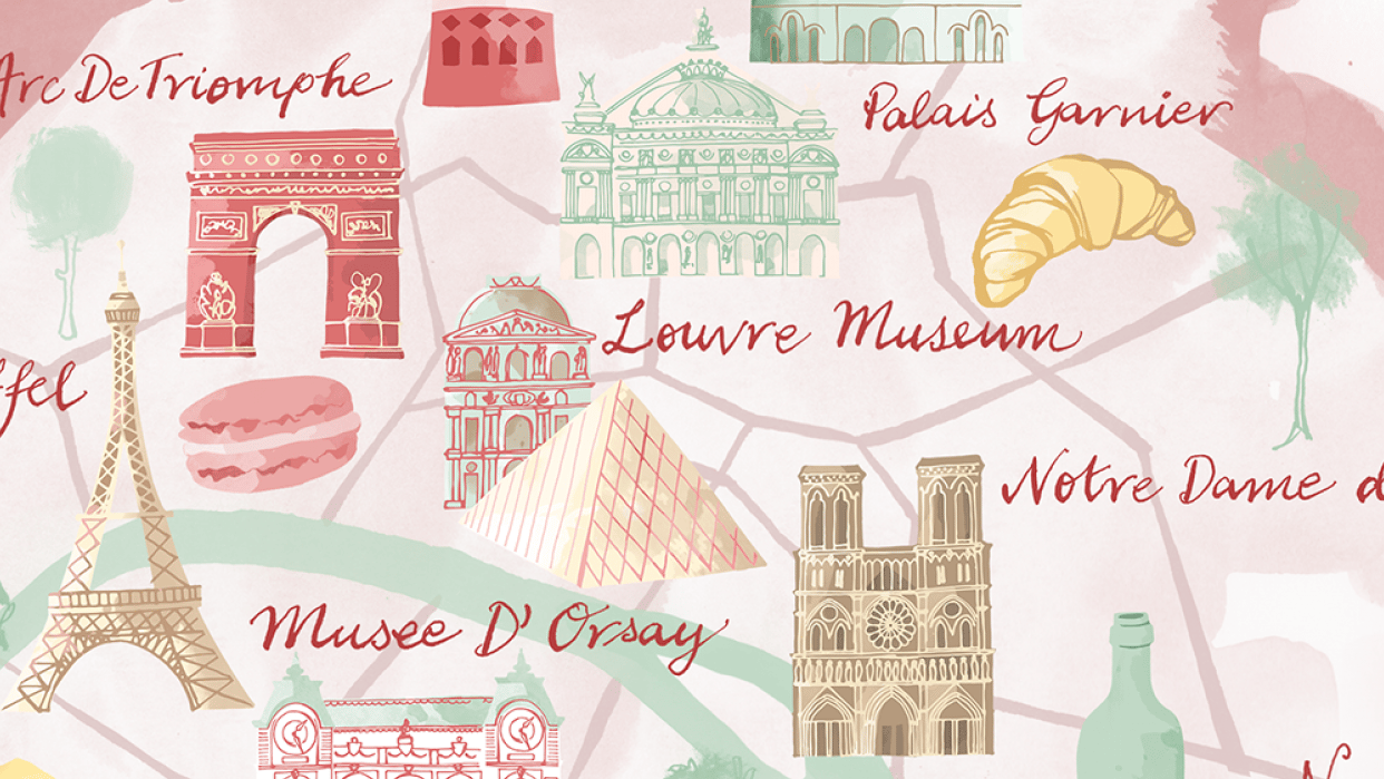 Finally my map Paris - student project