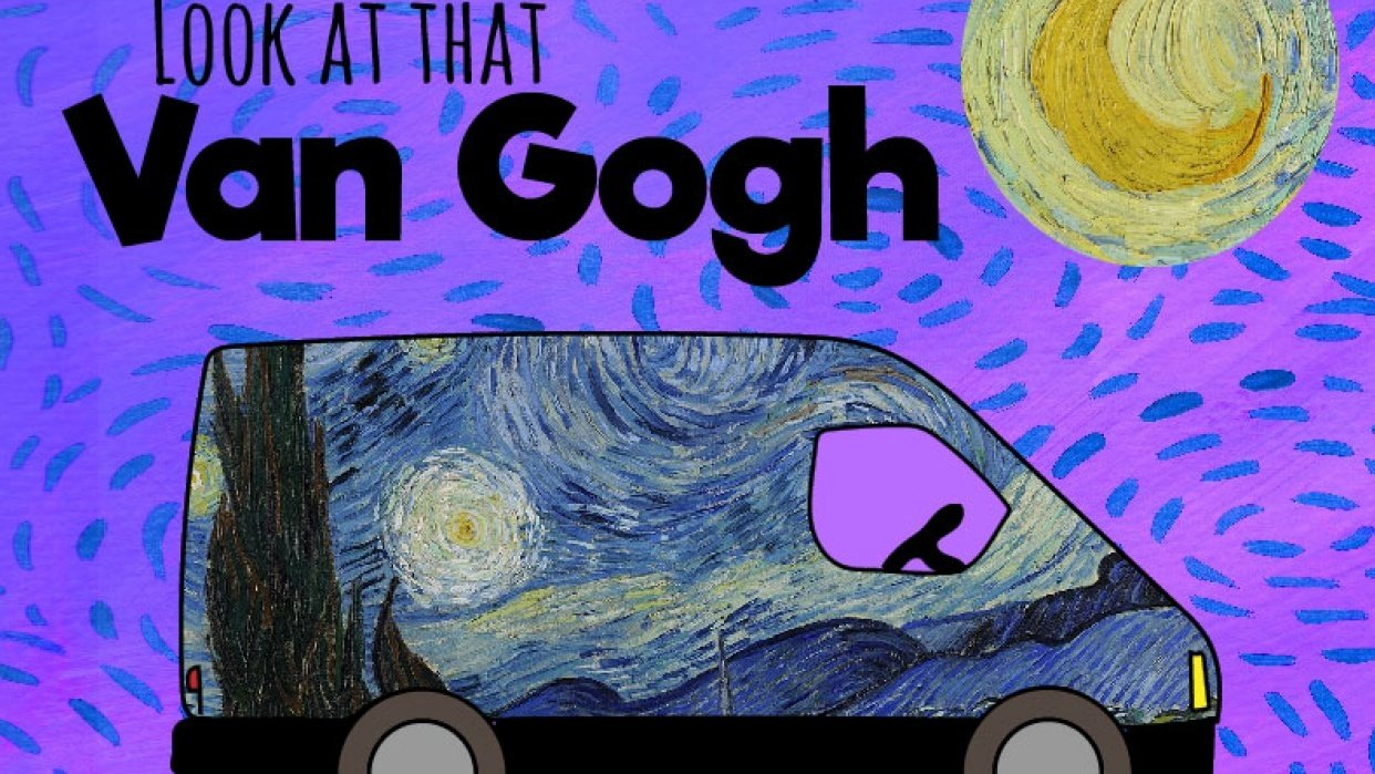 Look at that Van Gogh - student project