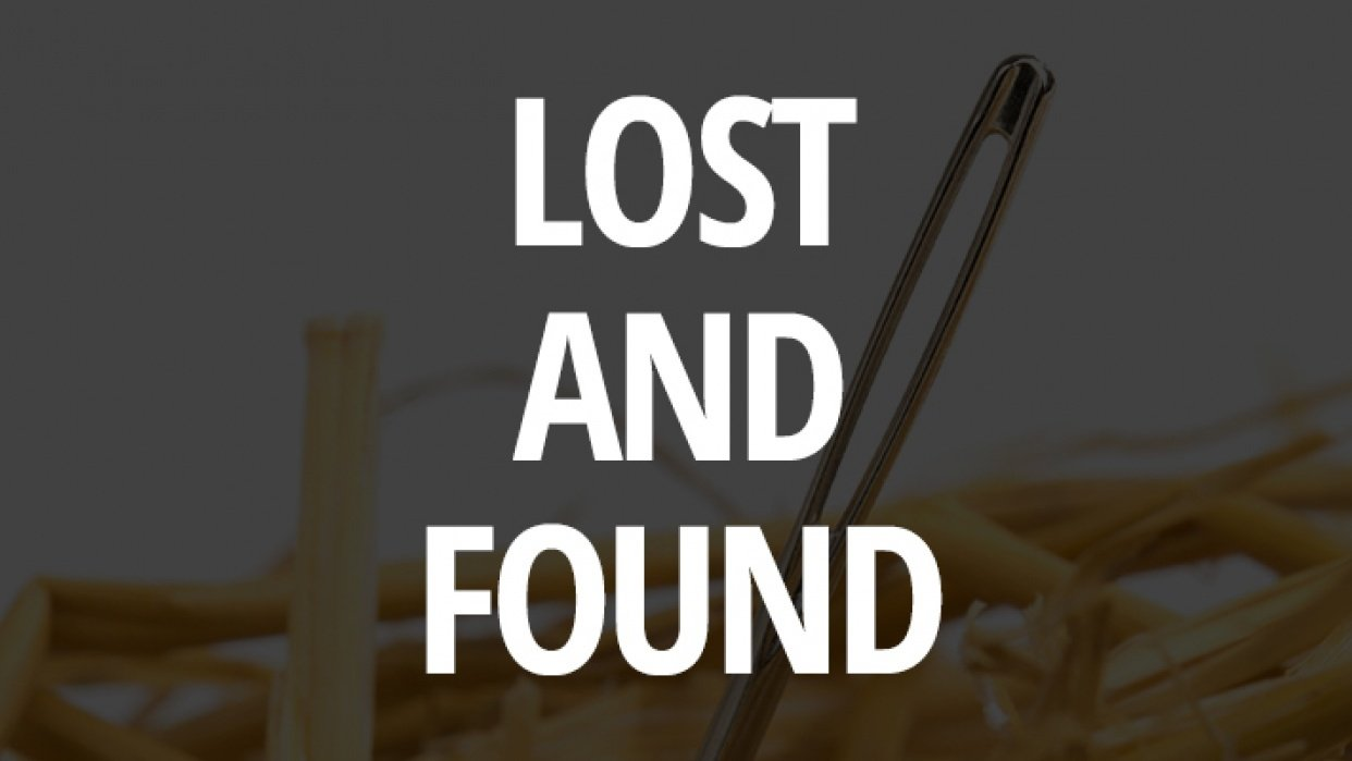 Lost and Found - student project