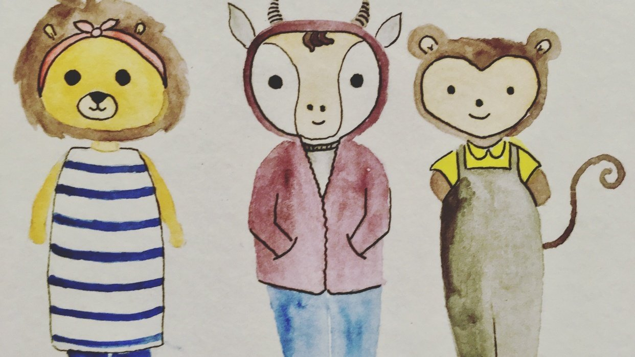 Animal Friends - student project