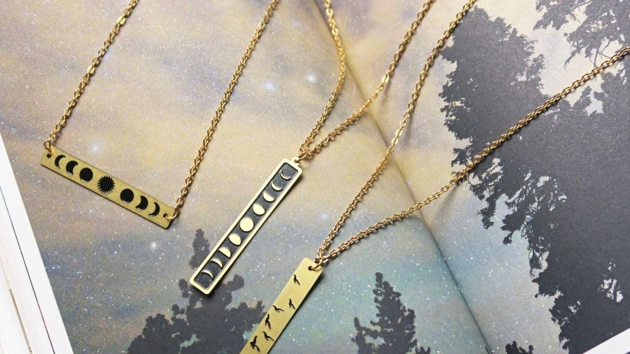 Feminine, Quirky, Handmade Jewellery - student project