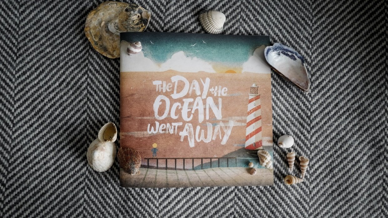 Flat Lay Project - The Day The Ocean Went Away - student project