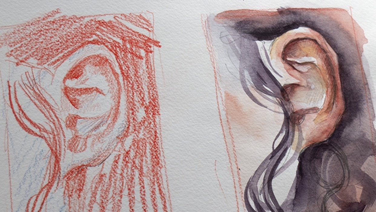 Sample Project - Sketchbook Exercises! - student project