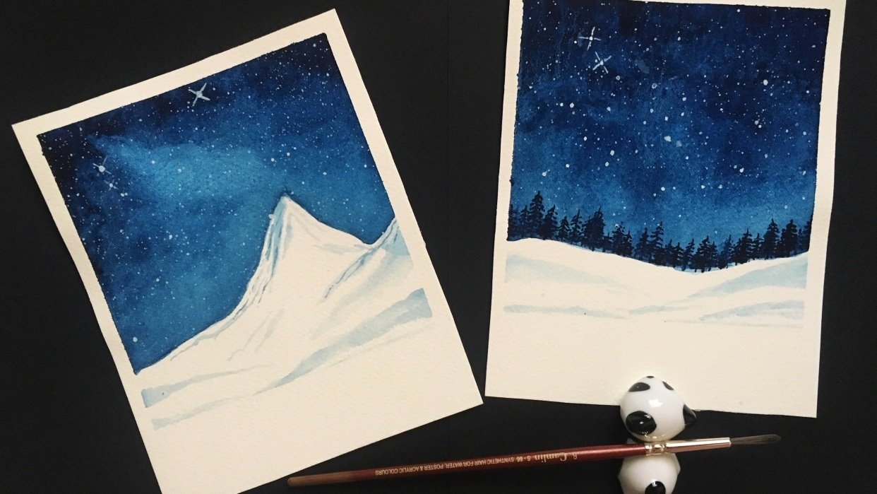Oh starry night! - student project