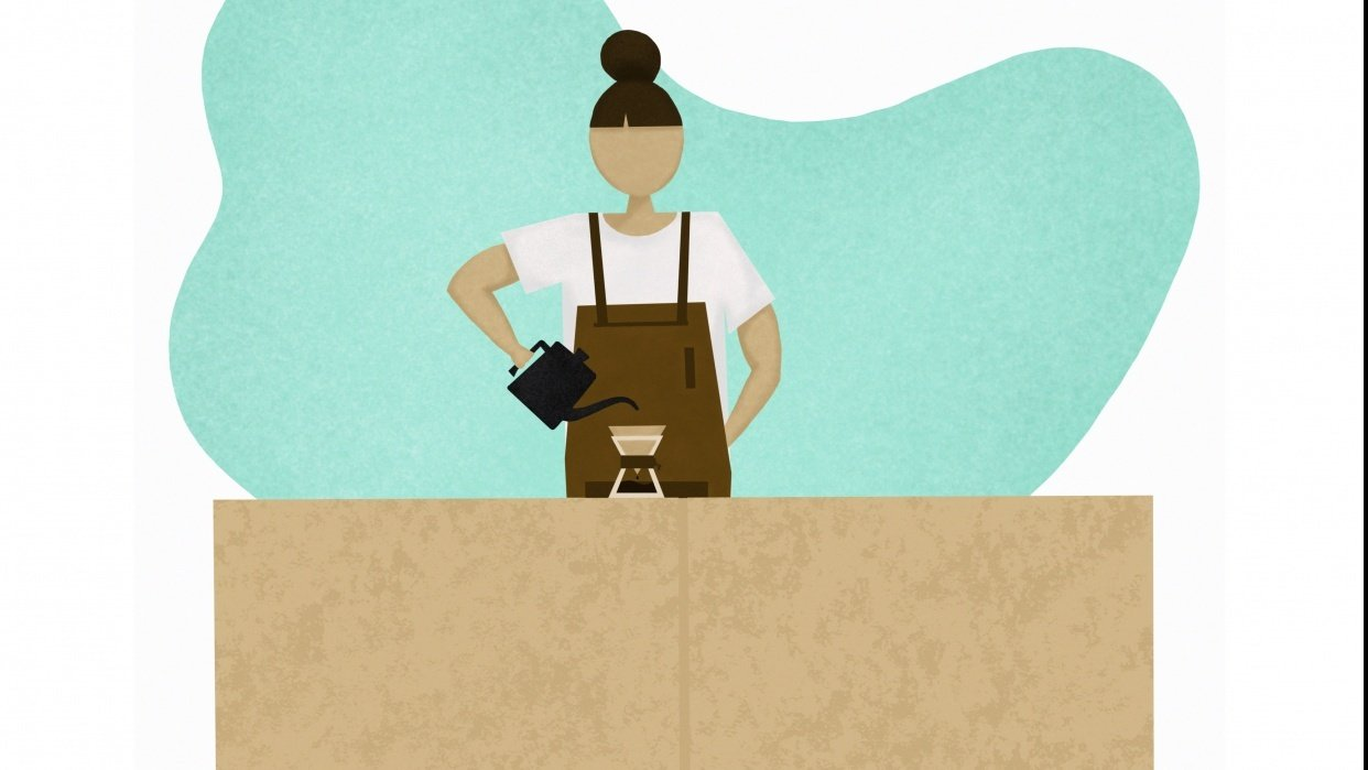 Coffee Girl - student project