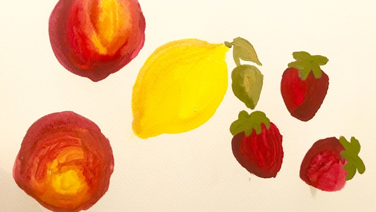 Leah Goren's Learn to Paint with Gouache - student project
