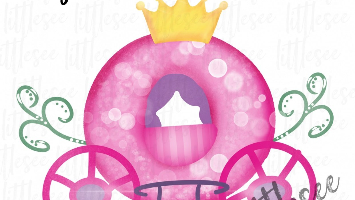 Cinderella Carriage Sublimation Download - student project