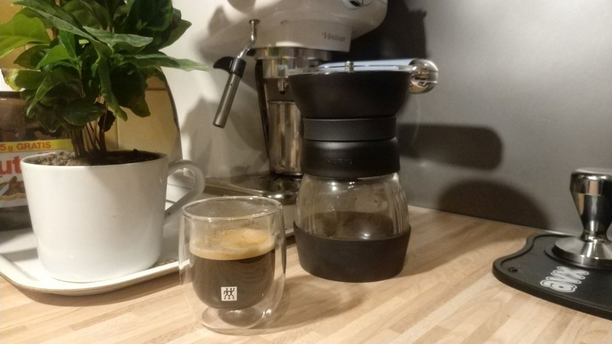 My espresso - student project