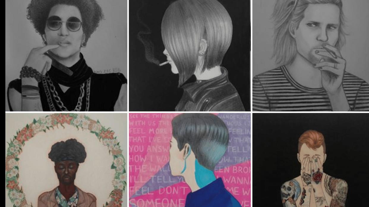 @biabarrett, new instagram art account! - student project