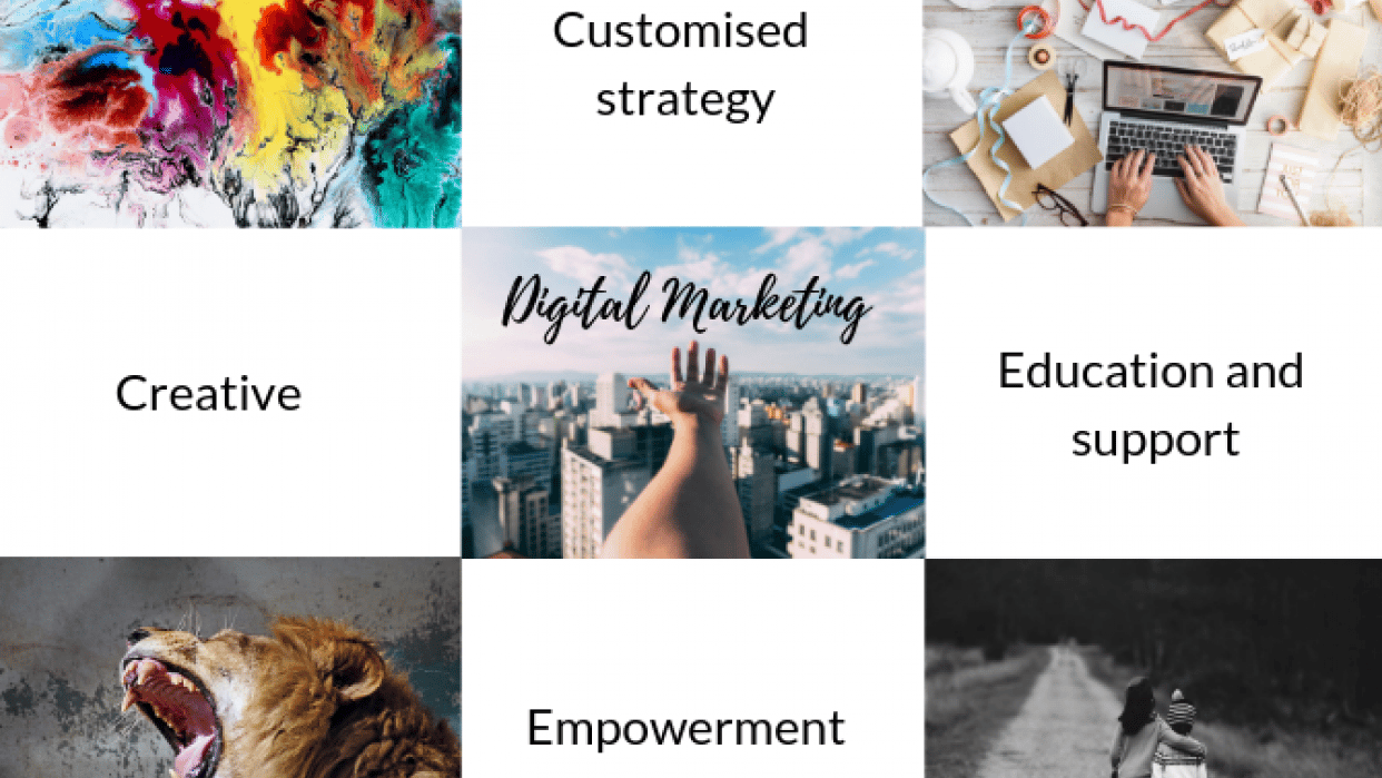 Digitalk Marketing and In Hindsight - student project