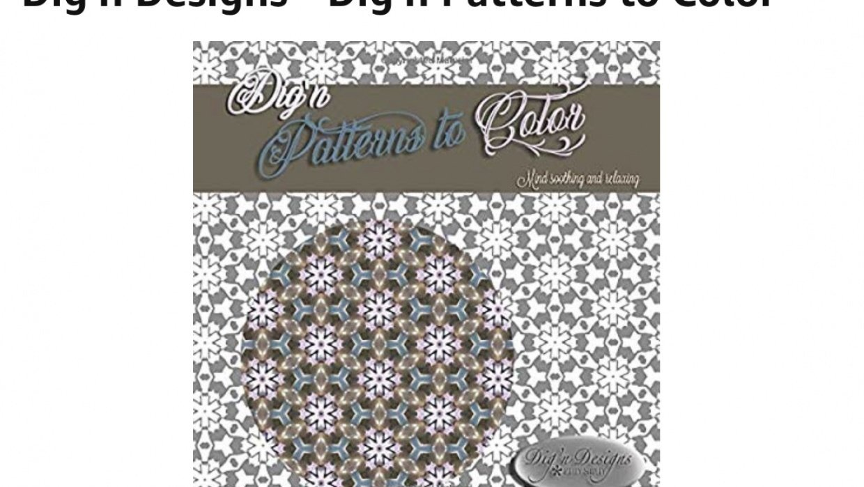 Dig'n Patterns to Color - student project