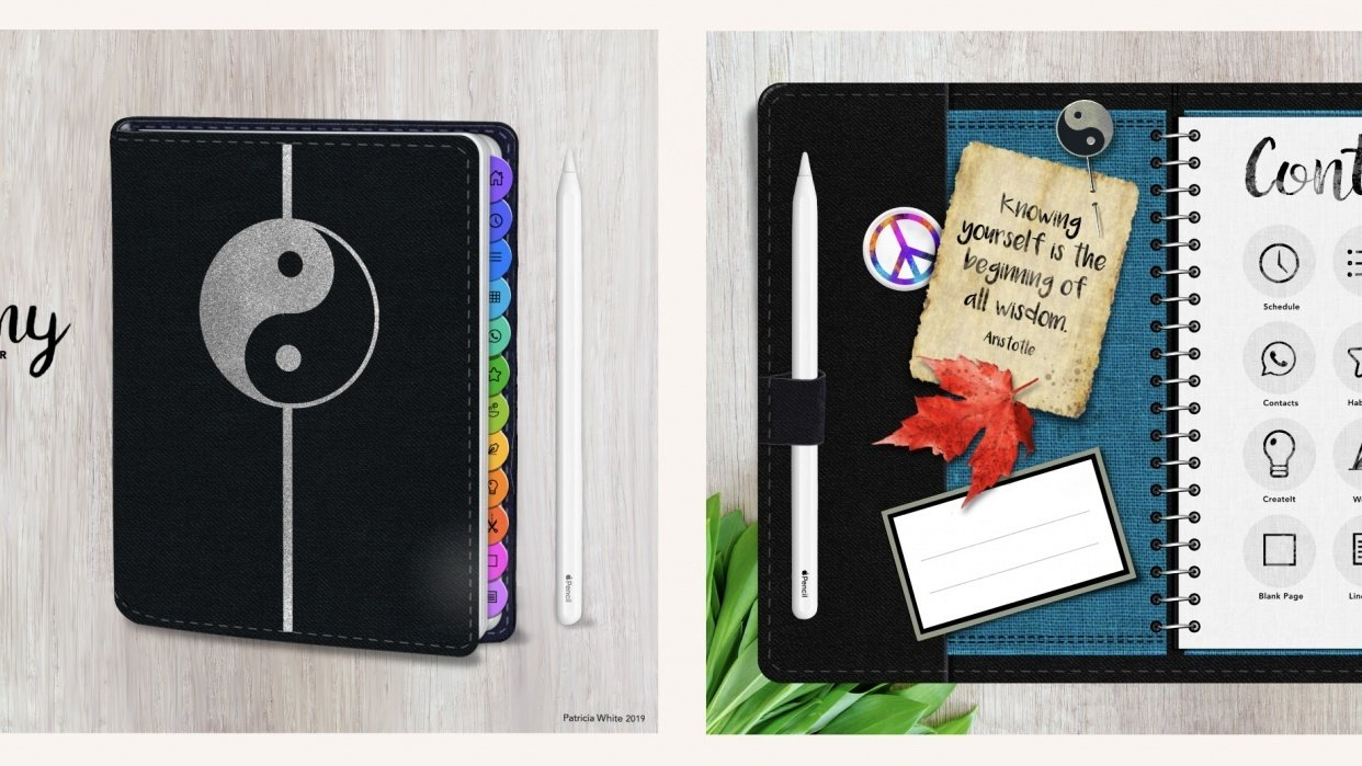 Harmony Journal Planner - student project