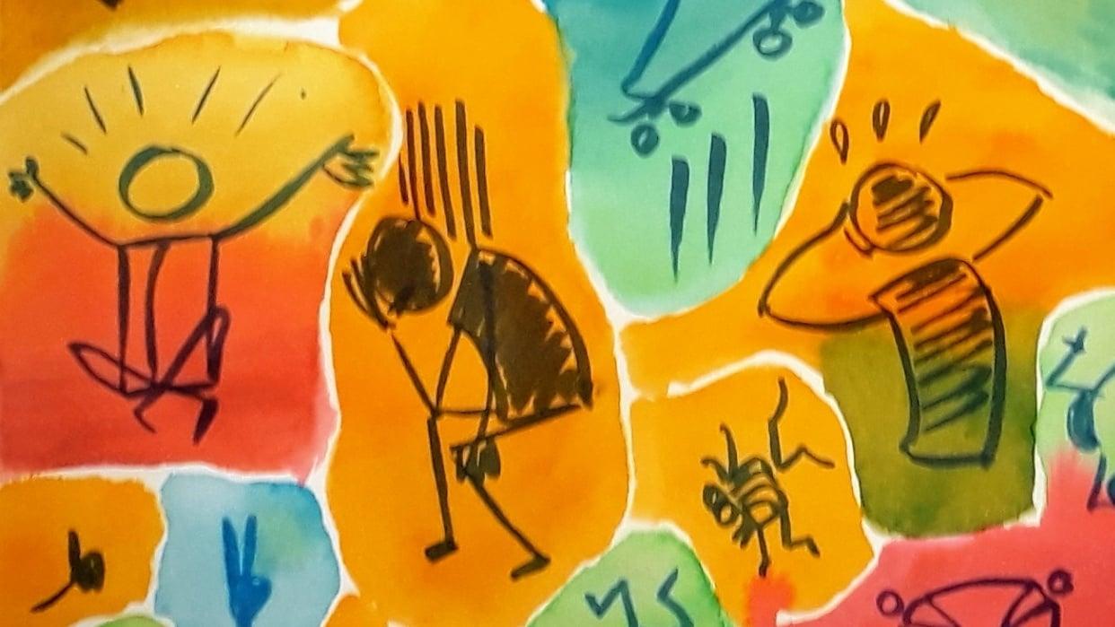 Stick figure gestures - student project