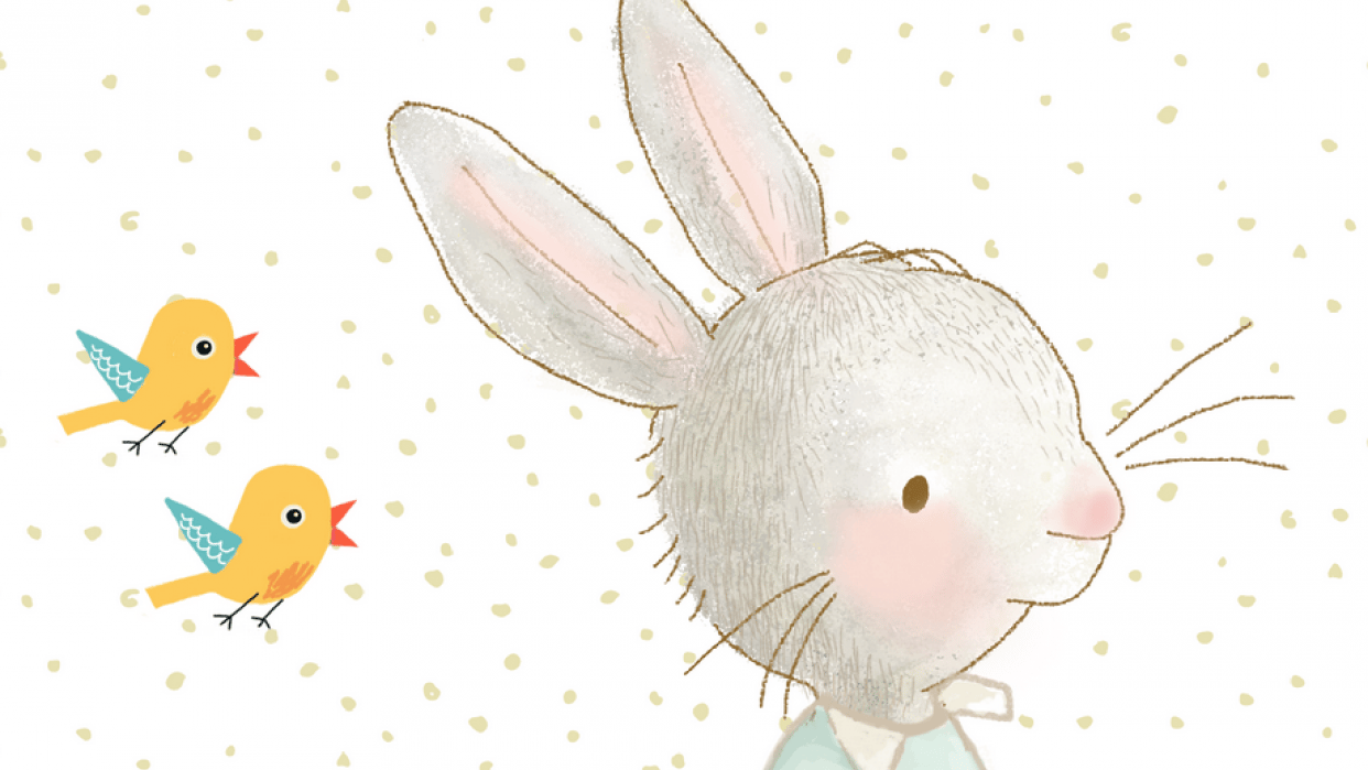 Little Quilt Rabbit. - student project