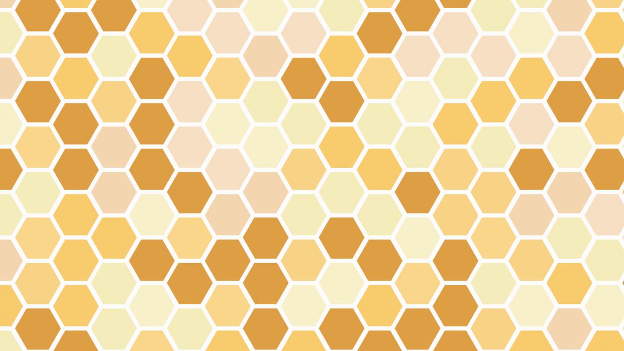 Honeycomb Hexagon Pattern - student project