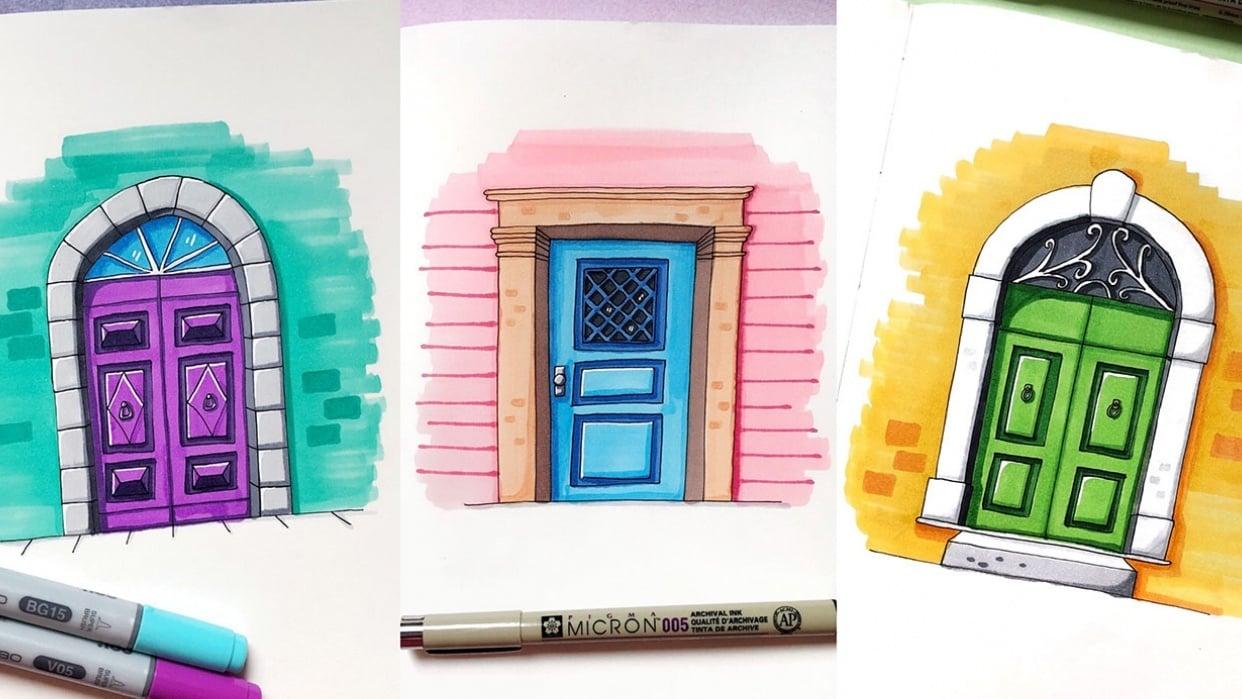 Door Drawings - student project