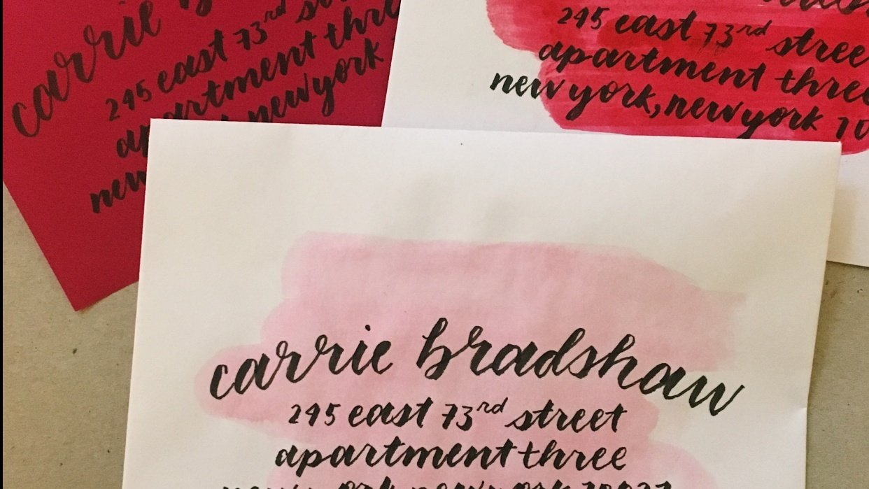 Carrie Bradshaw - student project