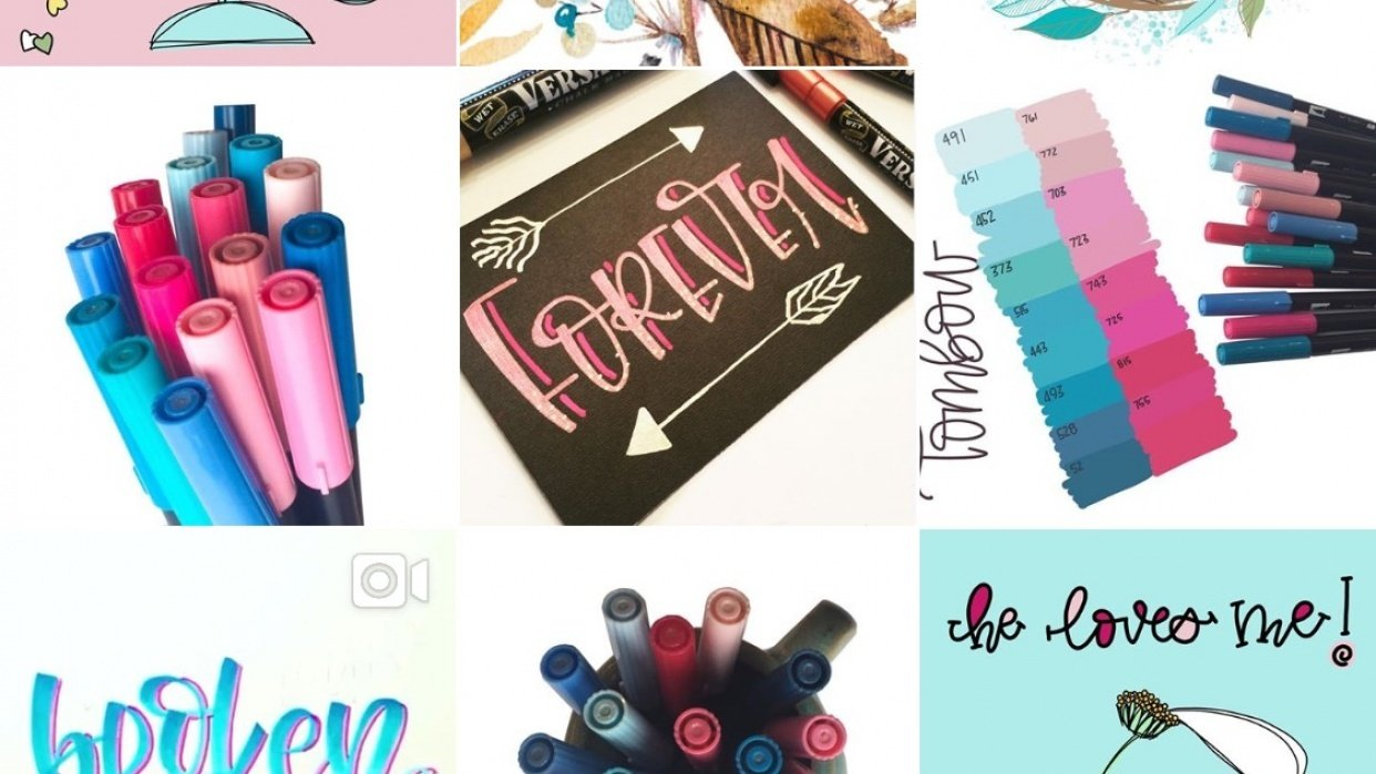 My new cohesive IG art account - student project