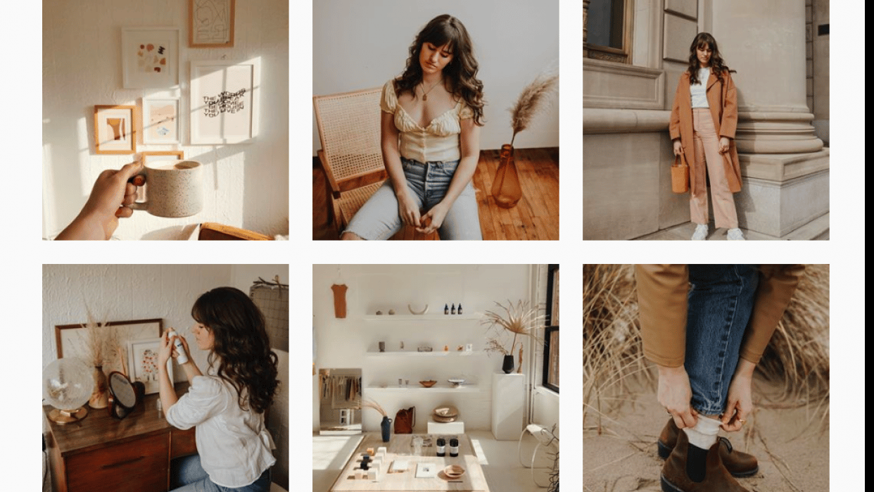 The Moptop Instagram Inspo - student project
