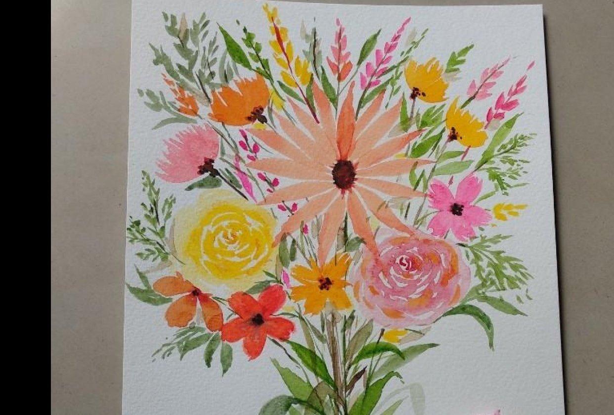 Flower boquet - student project