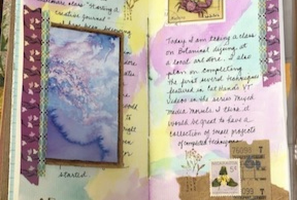 Creative Journaling - student project