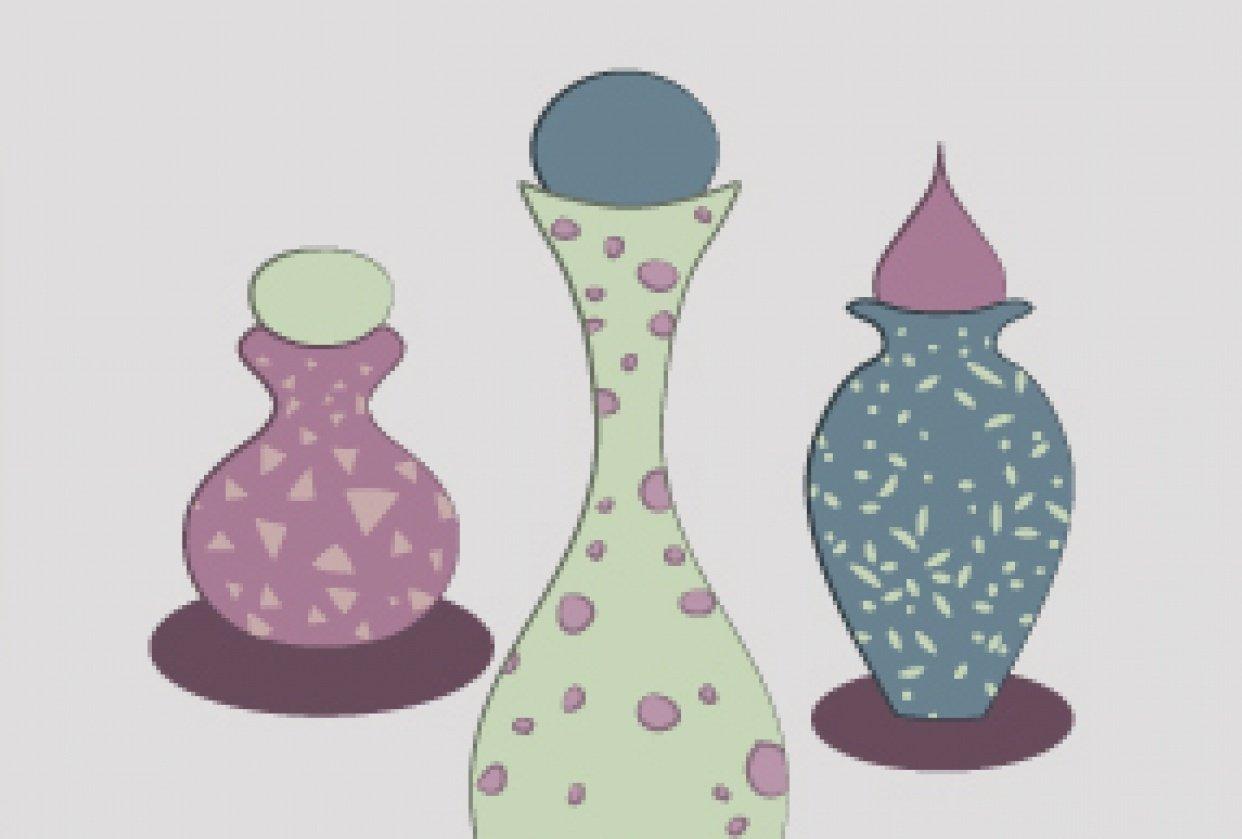 Little Potion Bottles - student project