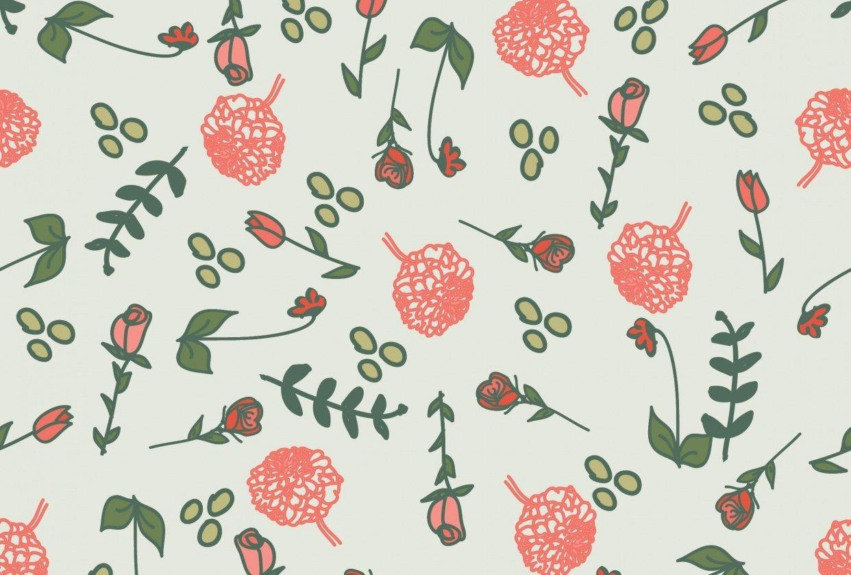 Farmhouse Floral - student project