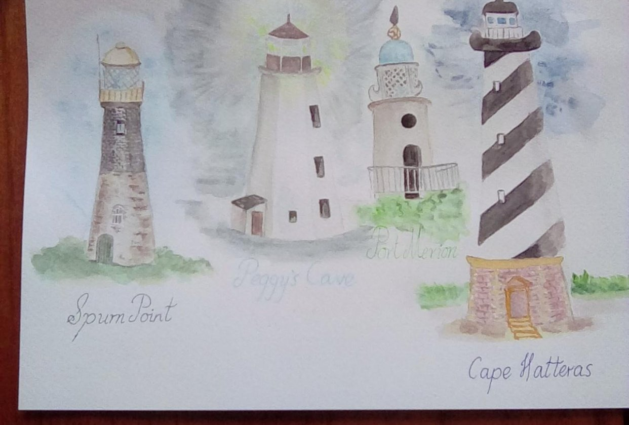 Lighthouses - student project