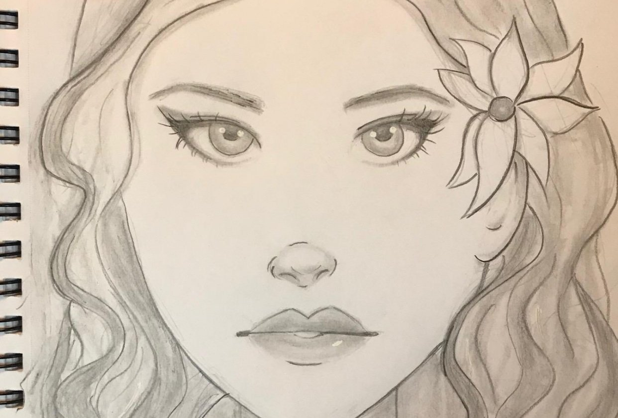 Girl Sketches - student project