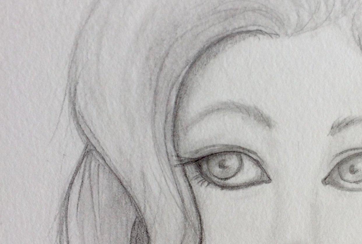 Character Workshop: Pencil Portrait - student project