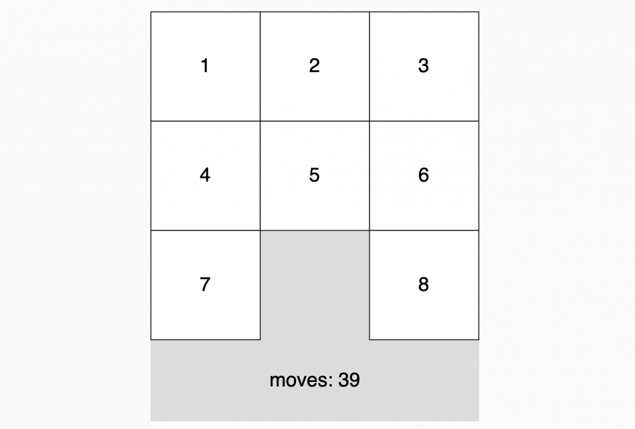 Sliding Puzzle Example - student project